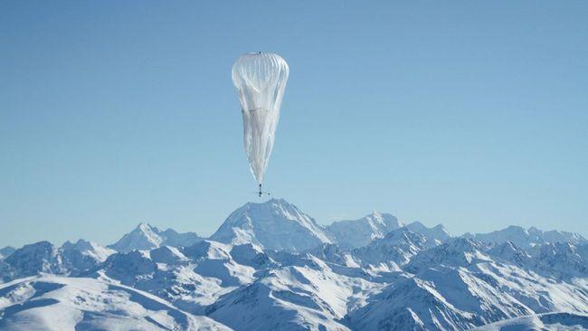 Balon Google Terbang Lebih Tinggi dari Pesawat Komersial