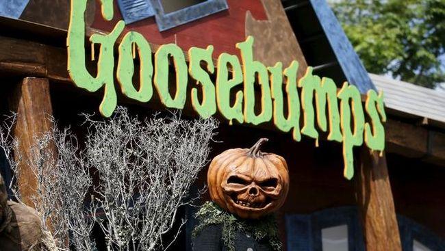 """Film Horor """"Goosebumps"""" Paling Laku Minggu Ini"""