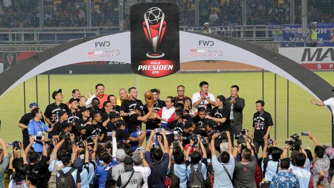 Piala Presiden 2017 di Bawah Kendali PSSI