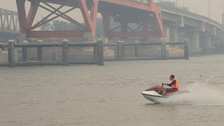 Lomba Lintas Sungai Musi Sejauh 500 km Diikuti 15 Tim