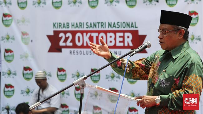 PBNU Sindir Muhammadiyah Soal Hari Santri