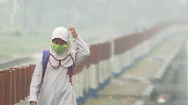 Kabut Asap di Riau, Gubernur Kirim Masker dan Obat-obatan