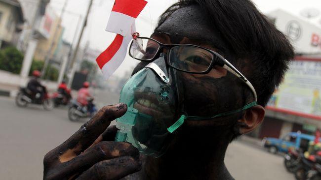 BNPB: Kebakaran Hutan 2015 Seluas 32 Wilayah DKI Jakarta on
