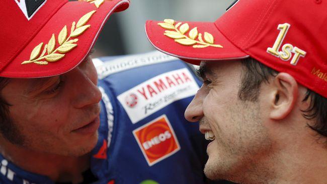 Rossi: Pedrosa Sesungguhnya Pantas Juara Dunia
