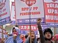 Lautan Buruh Berdemo, 17 Ribu Personel Gabungan Dikerahkan
