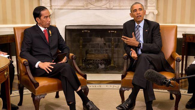 Bertemu Obama, Jokowi Tetapkan Ekonomi Digital jadi Prioritas
