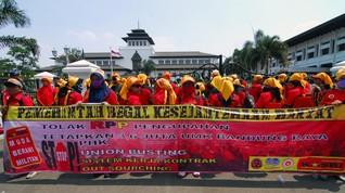 Pemerintah akan Ubah Rumus Penentuan Upah Buruh