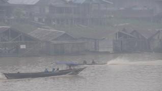 Penerbangan Palangka Raya Hampir Lumpuh Akibat Kabut Asap