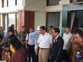 Jokowi dan Luhut Rapat di Rumah Dinas Bupati OKI Sumsel