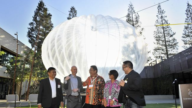 APJII Usul Balon Google Bisa Dipakai 350 Penyedia Internet