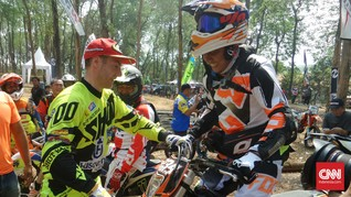 Graham 'King of Extreme Enduro' Jarvis Bagi Ilmu di Kendal