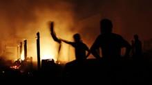 Kebakaran dan Banjir Rob Melanda Sejumlah Wilayah Jakarta