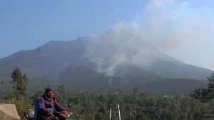 Gunung Merapi Meletus, Tinggi Kolom 1.000 Meter