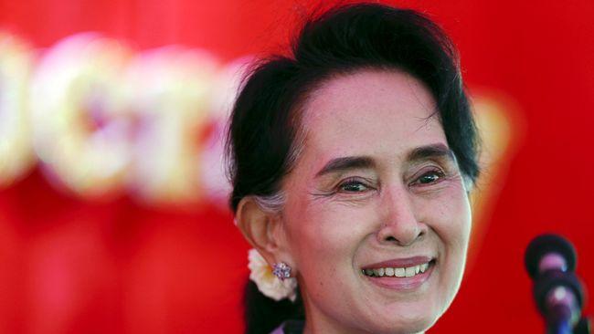 Nobel Perdamaian Aung San Suu Kyi Tak Akan Dicabut
