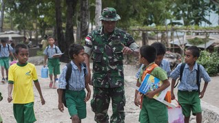 Kurang Tenaga Guru di Perbatasan, Kemendikbud Gandeng TNI