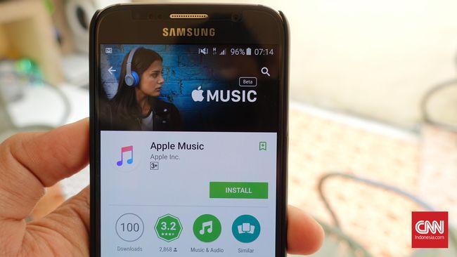 Apple Music Kini Bisa Dimainkan di Tablet Android