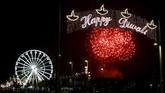 Ribuan orang menyesaki Leicester, Inggris, saat digelar perayaan Tahun Baru Hindu, Diwali, pada Rabu kemarin (11/11). Diwali juga dikenal sebagai Festival Cahaya di mana digelar berbagai kegiatan selama beberapa hari untuk merayakan cahaya, pengetahuan dan keindahan alam.