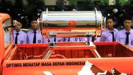Jokowi Tanam Kapsul Waktu Impian Indonesia 2085 di Merauke