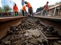 Tim Gabungan Temukan Rel Kereta Retak di Lumajang