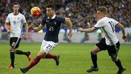 Laga UEFA 2018: Skor Akhir Jerman vs Perancis 0-0