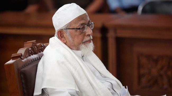 Saksi Sebut Ba'asyir Tak Terlibat Pelatihan Militer di Aceh