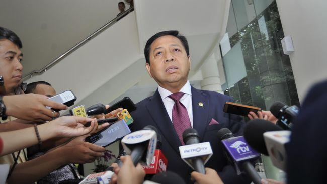 Jejak Kontroversi Ketua DPR Setya Novanto
