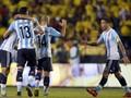 Argentina Rebut Kemenangan Pertama Tanpa Messi