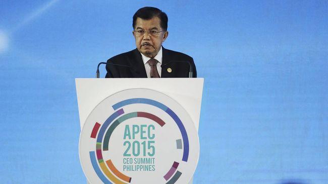 Jusuf Kalla 'Sentil' China Soal Devaluasi Yuan di KTT APEC