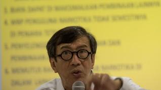 Yasonna Pastikan UU MD3 Sah Meski Tanpa Tanda Tangan Jokowi