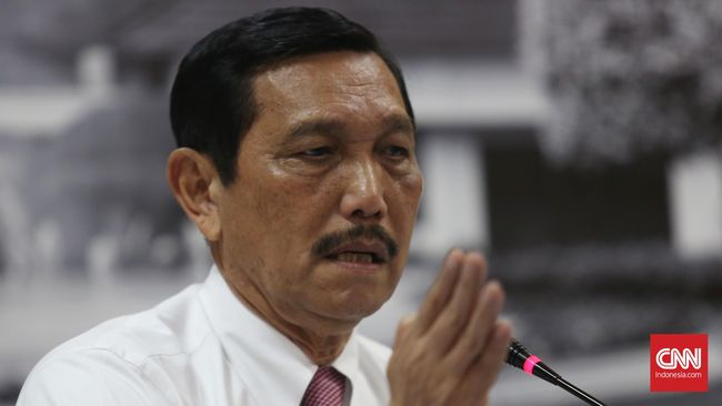 Luhut Sebut Jokowi Buat Kriteria Tinggi Pilih Menteri Ekonomi