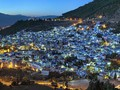 'Kota Biru' Romantis Tepi Laut Maroko