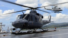 Helikopter Berpenumpang Sembilan Orang Jatuh di Jepang