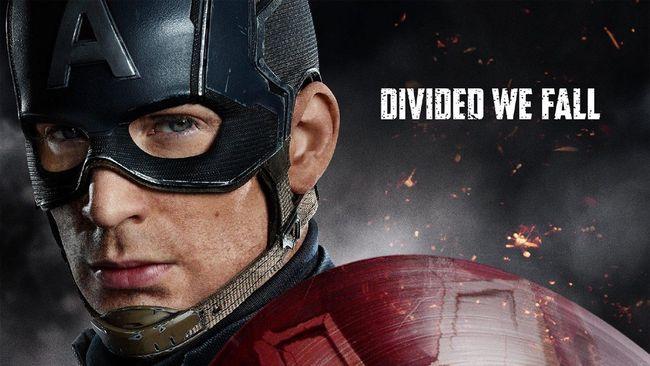 Captain America Pasang Perisai Melawan Iron Man