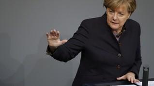 Merkel Tersudut Usai Raihan Suara Sekutunya Menurun di Pemilu
