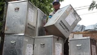 KPU: Kotak dan Bilik Suara Cuma Habiskan 30 Persen Anggaran