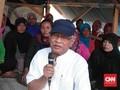 Ikut Tolak Pabrik Semen Rembang, Gus Mus Datangi Tenda Warga