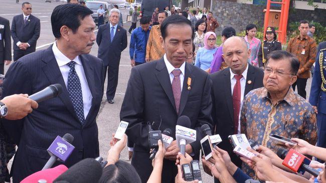 Di Paris, Jokowi Tegaskan RI Serius Atasi Kebakaran Hutan