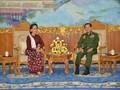 Usai Bertemu Presiden, Suu Kyi Diskusi dengan Kepala Militer