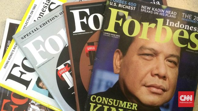 Forbes: Harta 10 Orang Terkaya di Indonesia Rp1.200 Triliun