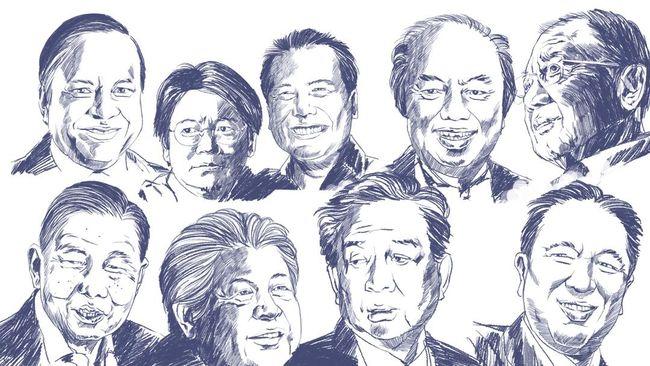 Forbes: 50 Orang Terkaya RI 2015 Berharta US$ 91,99 Miliar