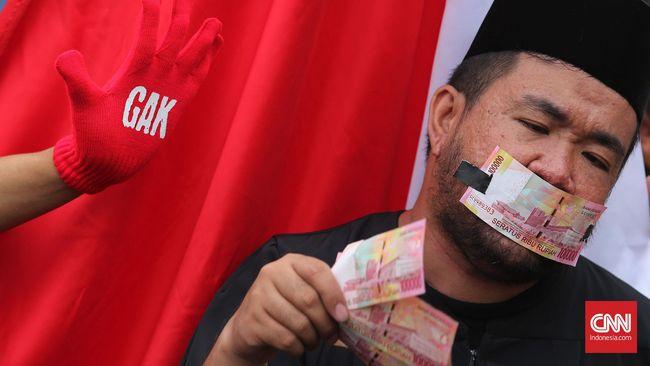 BPS: Tingkat Anti-Korupsi Masyarakat Indonesia Menurun