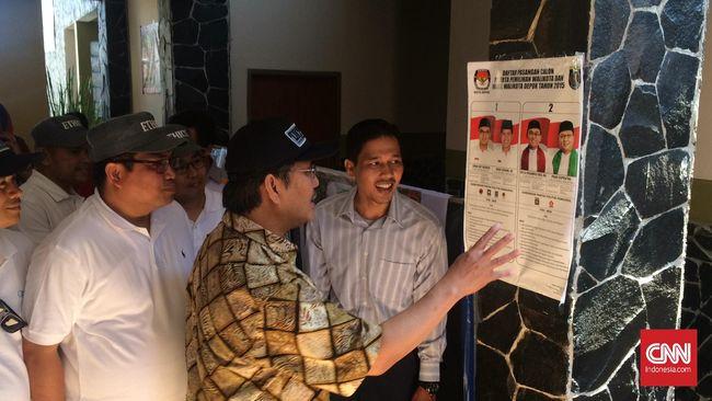 Jimly Asshiddiqie Puji Konsep <i>Doorprize</i> di TPS Depok