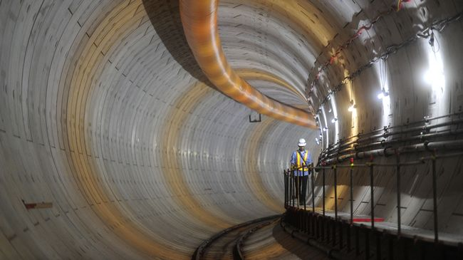 MRT Minta Tambahan Dana Rp2,56 Triliun ke Pemprov DKI