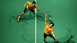 Foto-foto Terbaik Ahsan/Hendra Juara Super Series Finals