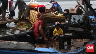 Nadran, Larung Laut Nelayan Angke