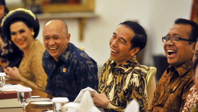 Jokowi Undang 30 Selebriti Medsos ke Istana