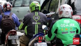 INDEF: Order Fiktif Lebih Banyak di Gojek Ketimbang Grab