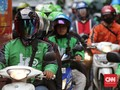Jalanan Sepi Gojek, Pengemudi Grab: Rezeki Buat Kami