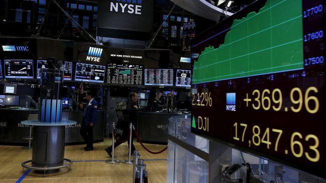 Bursa Saham China Terpukul Perang Dagang
