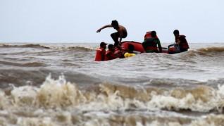 Kapal Kayu 'Nur Faida' Hilang di Perairan Biak Numfor